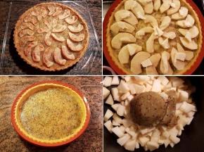 Crostata di mele con marmallata