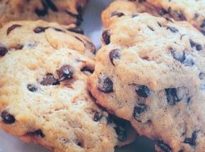 cookies zenzero e gocce di cioccolato fondente