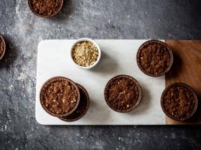 Mini sbrisoline al cacao e nocciole