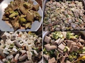 Pasta alla canapa con broccoletti e salmone