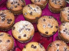 Muffin arancia e cioccolato.