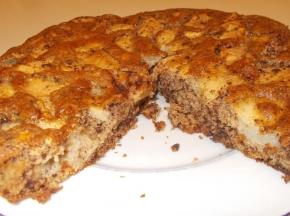 torta di mele e pere con cioccolato senza glutine