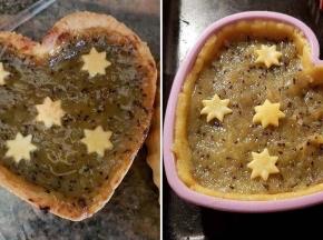 Crostatine alla confettura di kiwi