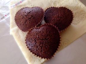 Muffin mandorla e cioccolato
