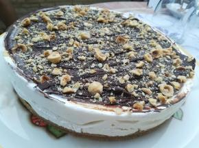 Cheese Cake cioccolato e nocciole