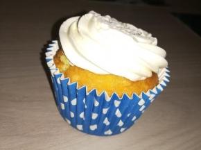 Capcake alla vaniglia con frosting al burro