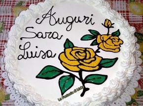 Torta farcita crema pasticcera