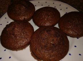 Muffin al cacao con farina integrale