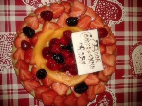 Crostata di frutta semplice