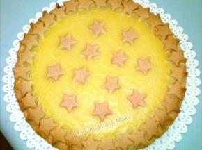 Crostata di crema al limone (con pasta frolla morbida)