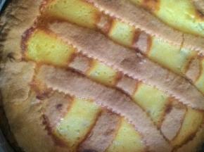 crostata con confettura e crema pasticcera