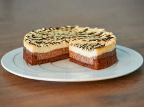 CheeseCake ai due cioccolati