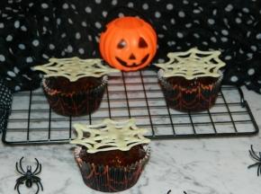 Spider Cupcake al cocco