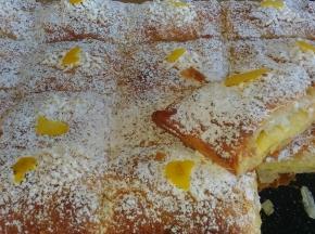 Torta sfogliata con crema al limone
