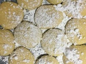 Biscotti senza burro all'arancio