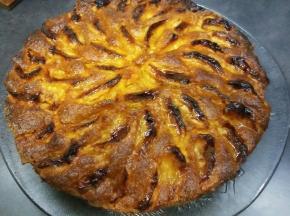 Torta di mele con marmellata