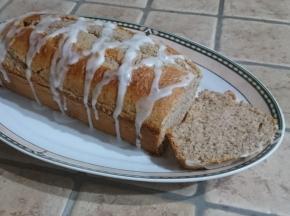 Plumcake al grano saraceno aromatizzato alla mandorla della Blogger Le dolcezze di Valentina