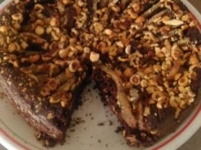 Tortacpere cioccolato e nocciole
