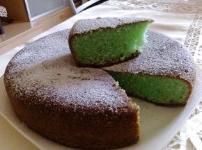 Torta cocco e menta - Ricetta della dolcina Frency 89