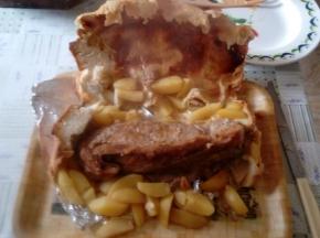 Coppa di maiale in crosta