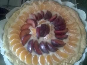 crostata clementine e prugne