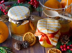 Confettura di arance e curcuma