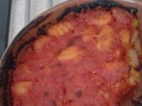 Gnocchi di patate al tegamino