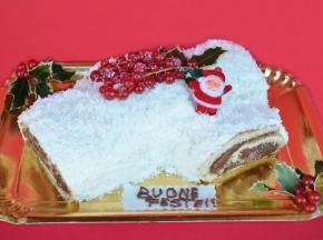 Tronchetto ''Bianco Natale''