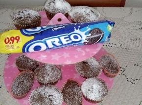 Cupcake al gusto oreo