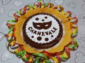 Torta di Carnevale al cacao