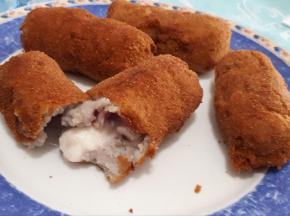 Panzarotti napoletani con patate viola