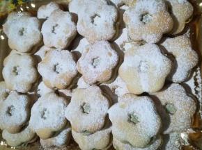 Biscotti alla nutella di pistacchio