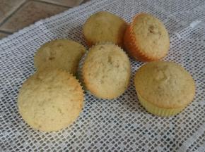 Muffin soffici con frutta secca