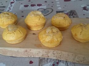 Muffin alla zucca con cuor di gorgonzola della dolcina Topino14