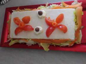 Torta Salata con pane bianco