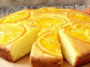 Torta 7 vasetti all'arancia