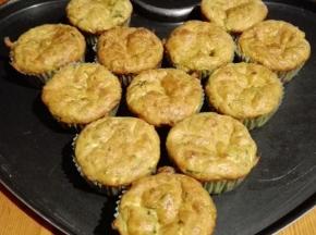Muffin salati tonno e zucchine