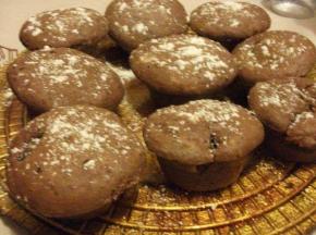 Muffin gocce di cioccolato