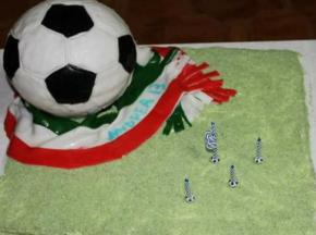 Torta tema calcio