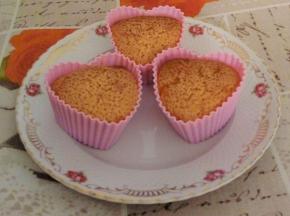 Muffin di pan di spagna