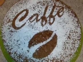 Torta soffice al caffè