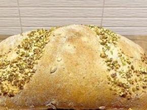 Pane al pistacchio