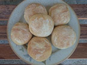 Panini con farina di semola