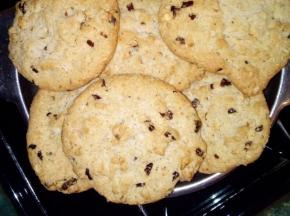 Biscotti cookies con cioccolato