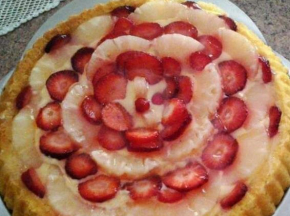 Torta di frutta estiva