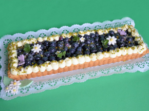 Cream tart ''mirtilllosa''