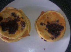 Pancake con cioccolato