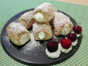 Ciardoni siciliani ,con crema di ricotta