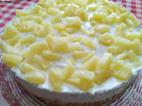 Cheesecake all'ananas