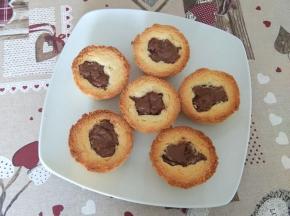 Tortine al burro con nutella della dolcina Simpa82